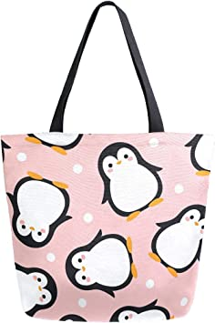 Stylish Women Lady/'s Canvas Shoulder Bag Whale Pattern Eco-Friendly Tote Handbag
