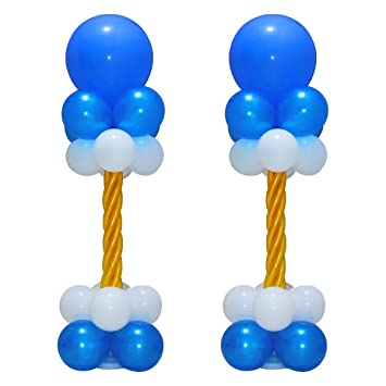 Amazon huge balloon column stand kit bases and poles latex huge balloon column stand kit bases and poles latex balloons for birthday party wedding supplies junglespirit Image collections