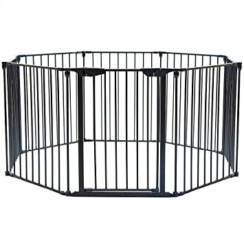Amazon Com Teekland 204 Inch Super Wide Adjustable Gate And Play