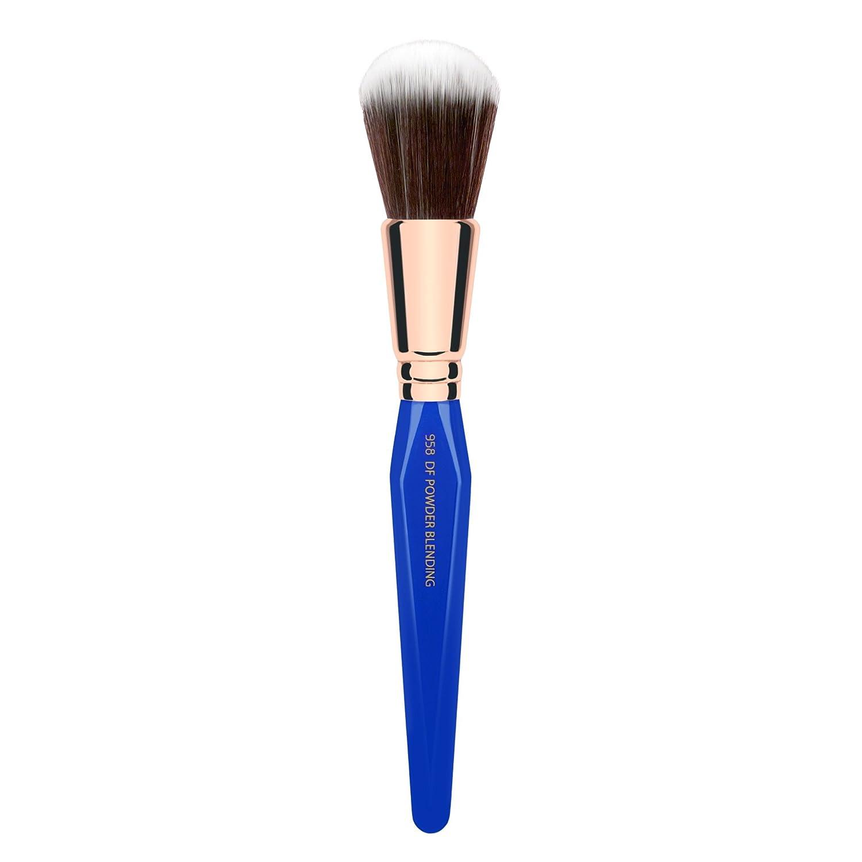 Bdellium Tools Professional Makeup Brush Golden Triangle Series - Duo Fibre Powder Blending 958