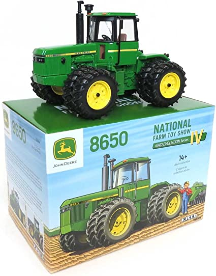 Amazon Com Ertl Lp66139 1 32 2016 National Farm Toy Show John Deere 8650 Toys Games