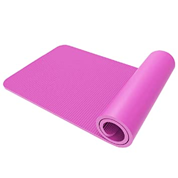 Fitness and Leisure - Esterilla de yoga (1 cm de grosor ...