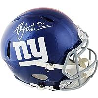 $619 » Michael Strahan Autographed/Signed New York Giants Speed Full Size AMP NFL Helmet