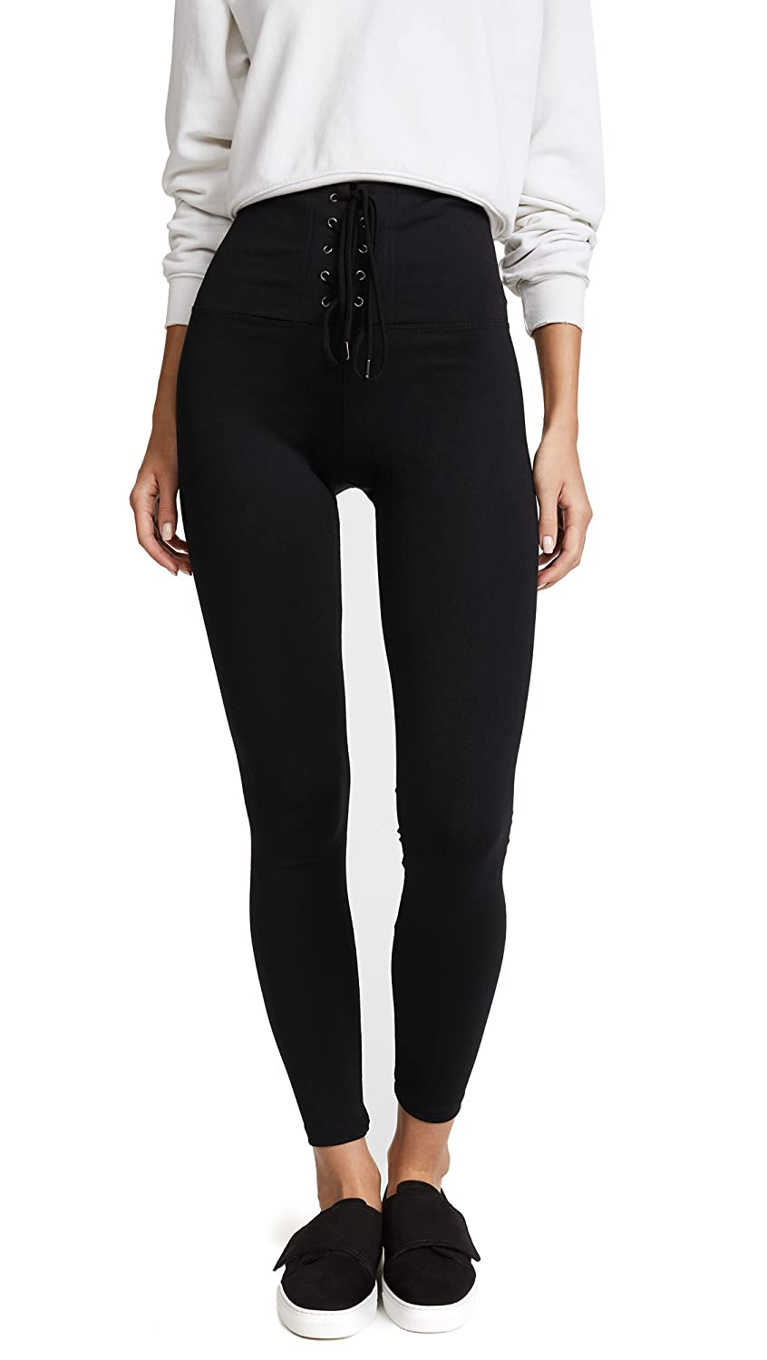 David Lerner Women's High Rise Corset Leggings