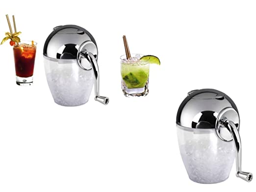 Picadora de hielo manual manivela picadora de Ice Crusher hojas de ...