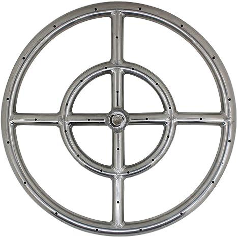 ROOwarMer Anillo Quemador de Gas propano Φ306mm para Estufa ...