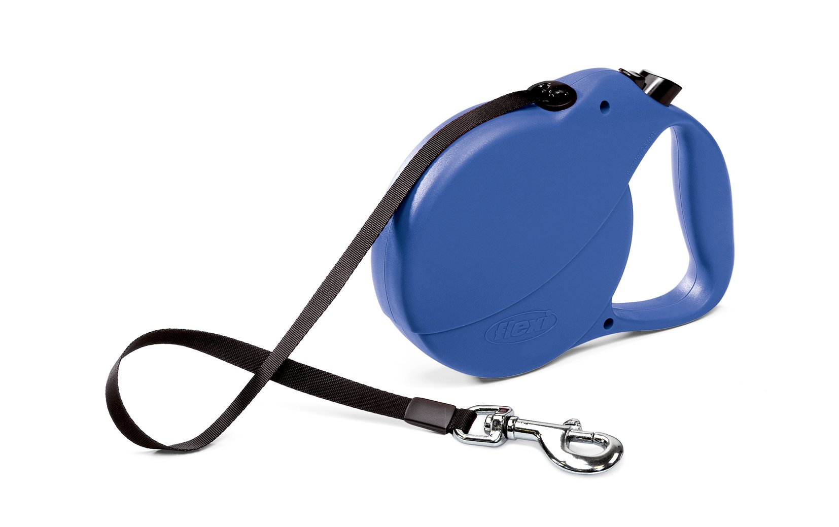 Flexi Explore Retractable Belt Dog Leash , Large, 26-Feet Long, Supports up to 110-Pound, Blue