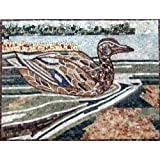 Duck Stone Hand Made Marble Mosaic Decorative