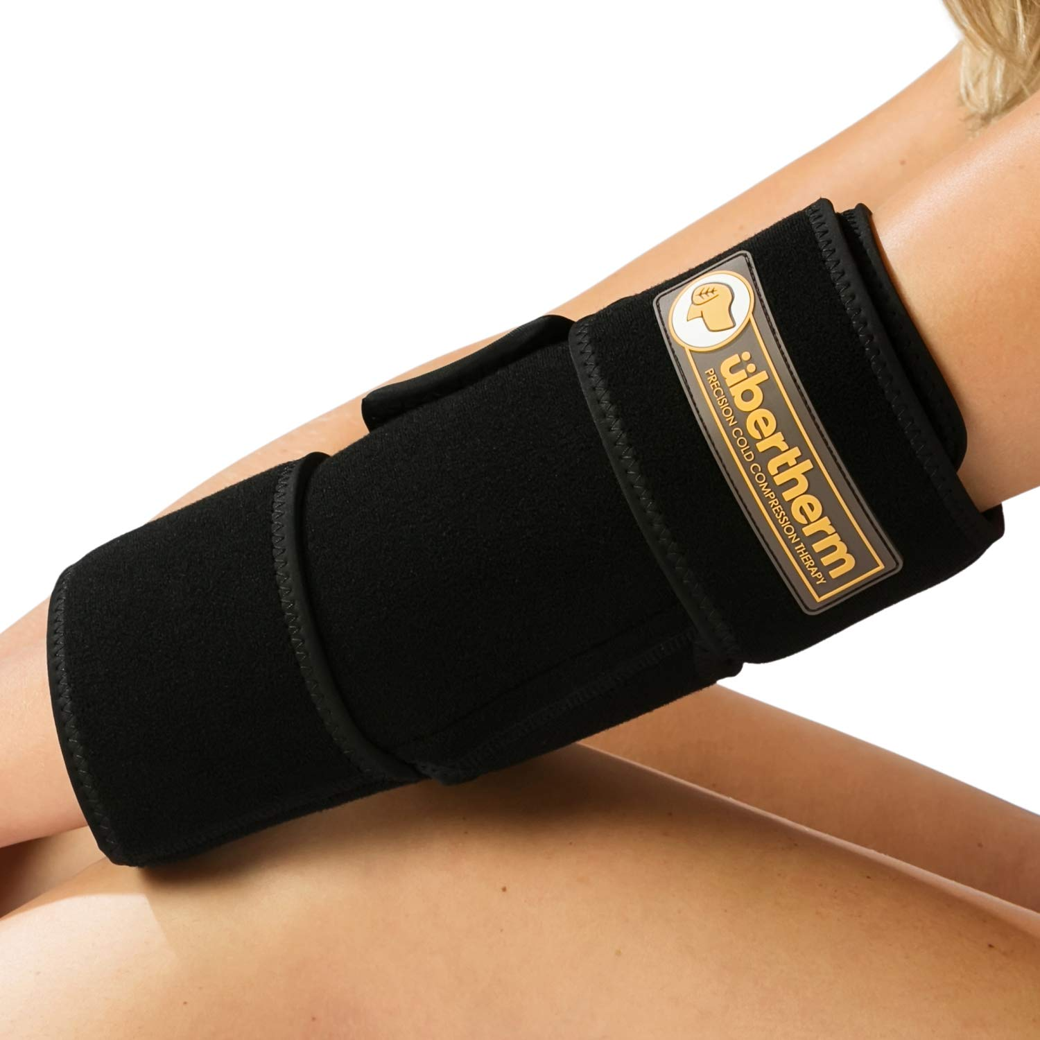 übertherm Elbow Pain Relief Cold Wrap: Heal Faster, Feel Better. Sting-Free Sports Icing by übertherm