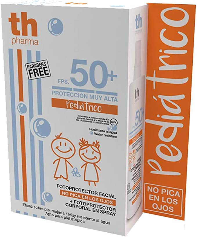 Thader Th Pharma Sun Pack Fotoprotector Pediátrico Facial + ...