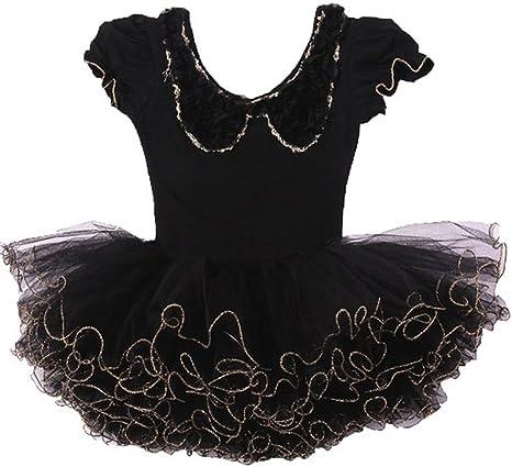 jiangyue niña de disfraz tutú de ballet leotardos Dance Skate ...