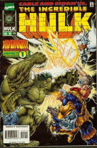 The Incredible Hulk #444 Cable Vision