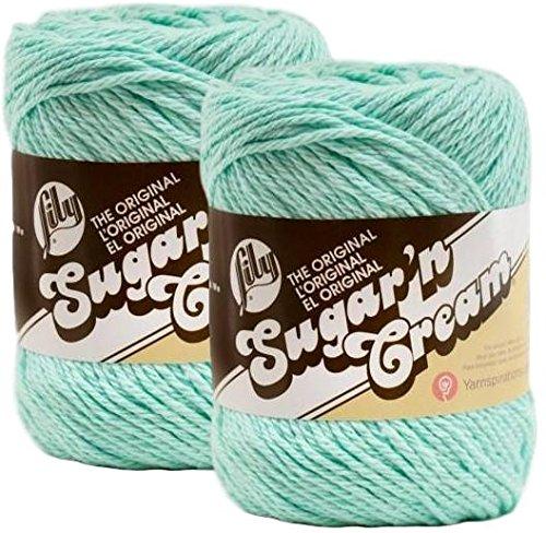 - Bulk Buy: Lily Sugar'n Cream Yarn Beach Glass (2-pack)