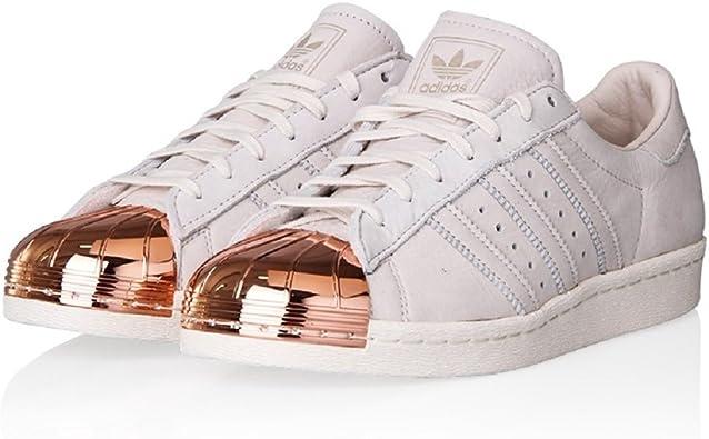 adidas Superstar 80's Metal Toe, Baskets Mode pour Homme