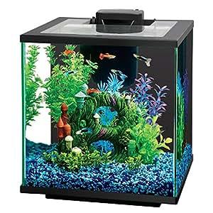 Central aquatics island 7 5 gallon glass for 5 gallon fish tank heater