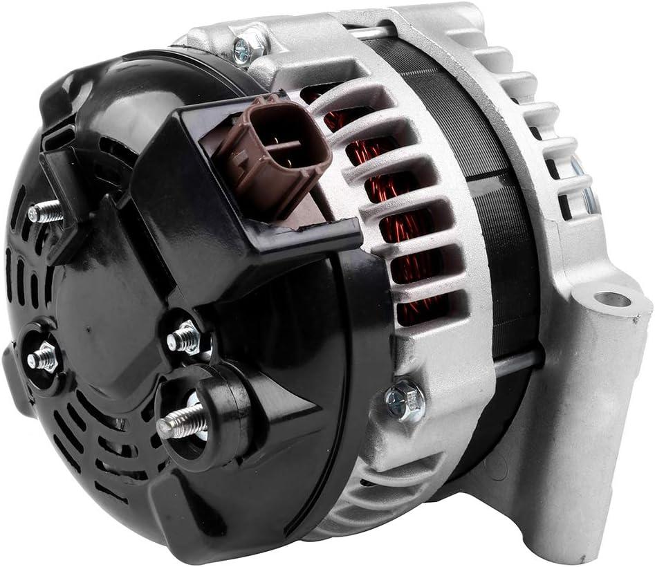 LSAILON Auto Alternator Replacement for 2002 2003 2004 2005 2006 Nissan Altima 2002 2003 2004 2005 2006 Nissan Sentra 110 Amp