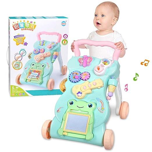 Juguetes Para Bebes De 7 Meses.Paseador De Bebes 7 18 Meses Empuje De La Mano De Los Ninos