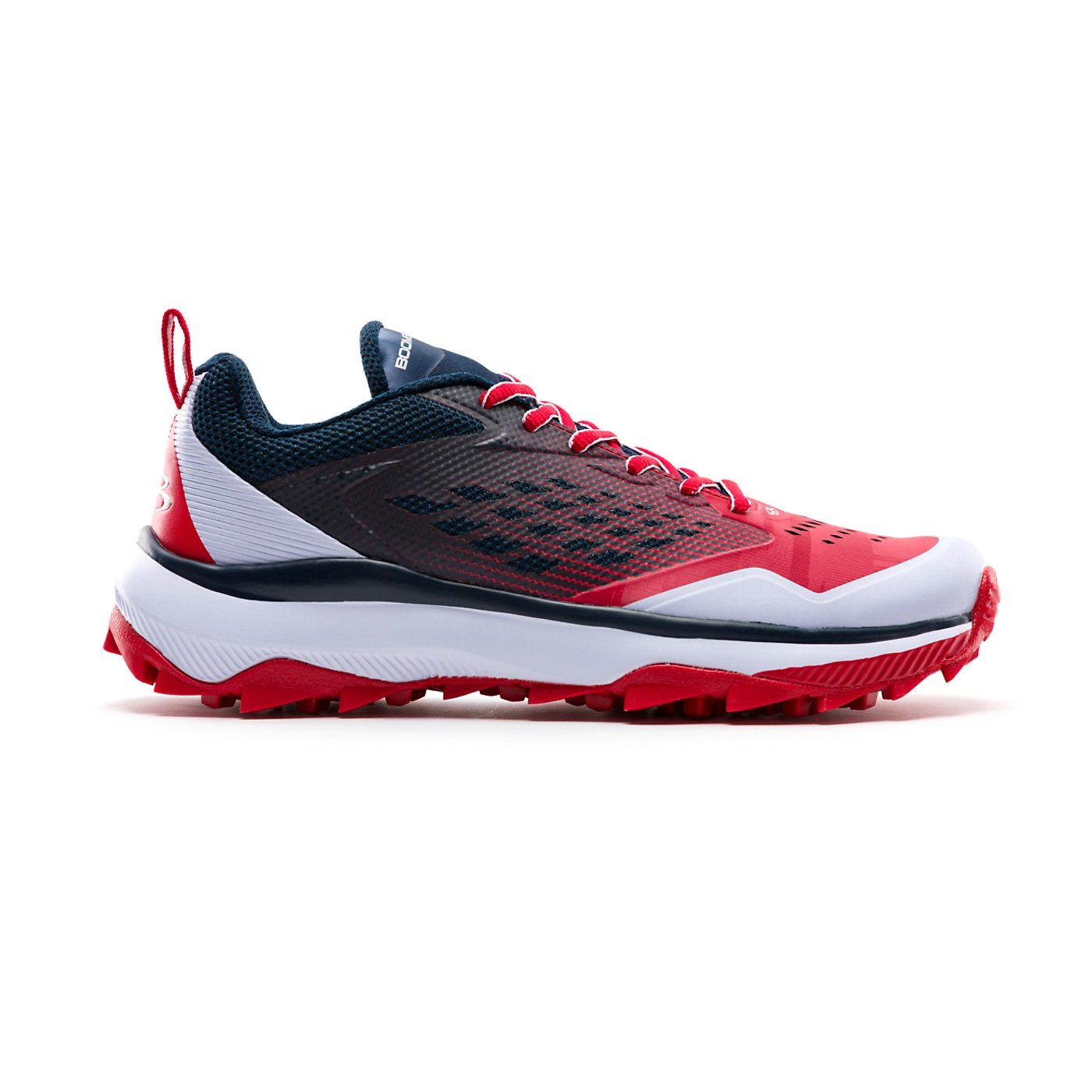 Boombah Men's Marauder Turf Navy/Red - Size 8