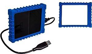 getgear Silicone External Hard Drive Bumper Case for WD My Passport, My Passport for Mac Portable External Hard Drive, 1TB, 2TB (0.54
