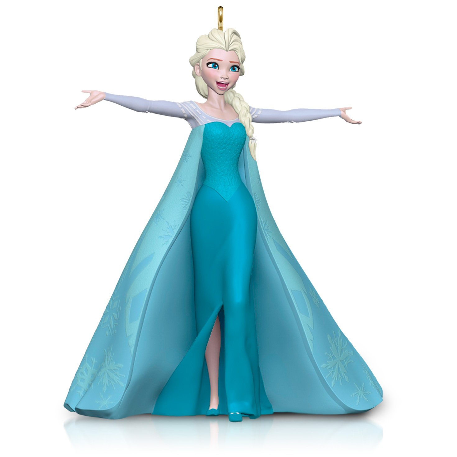 Amazon.com  Hallmark Keepsake Ornament  Disney Frozen Let It Go Queen Elsa   Home   Kitchen ab759c567