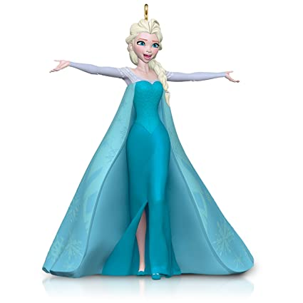 amazon com hallmark keepsake ornament disney frozen let it go