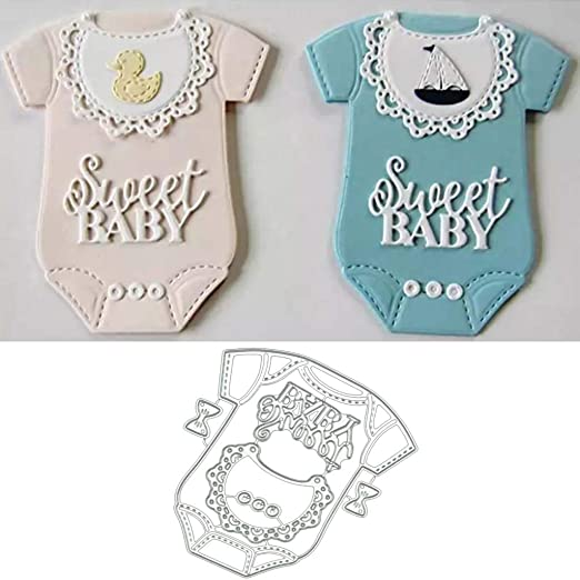 Baby Clothes Metal Cutting Dies Scrapbooking Embossing Paper Cards Stencil New