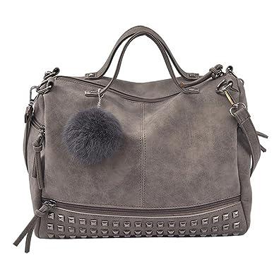 396fd297f25052 Damen tasche sale, Frashing Frauen Niet Handtaschen große Taschen  Schultaschen Schulter Beutel Reise Tasche Schädel