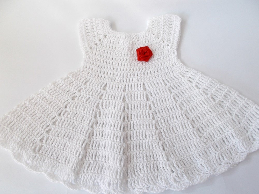 e7491c9fd Amazon.com  White baby dress Crochet baby set Crochet baby shoes ...
