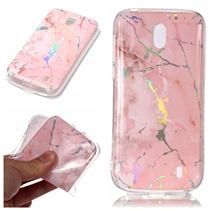 super popular 80950 e12cf Amazon.com: Nokia 1 Case, Nokia 1 Shock-Absorption Women Covers ...
