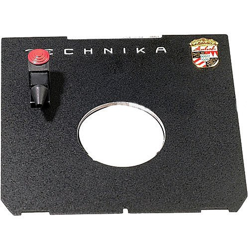 Linhof Flat Technika 45 Lensboard with Cable Release Quicksocket - ONLY for #0 Copal Shutters (Technika Lensboard)