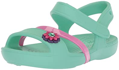 91e4faf816fd Crocs Girls Lina Open-Toe Sandals  Amazon.co.uk  Shoes   Bags
