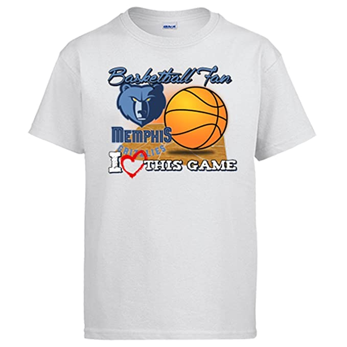Camiseta NBA Memphis Grizzlies Baloncesto Basketball fan I Love This Game: Amazon.es: Ropa y accesorios
