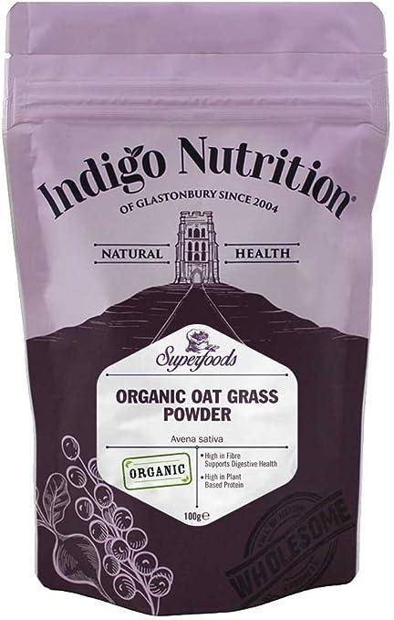 Indigo Herbs Hierba de Avena en Polvo orgánico 500g: Amazon.es: Salud y cuidado personal