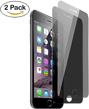 iPhone 7 Plus Protector de Pantalla Privacidad, Aohro [2-Pack ...