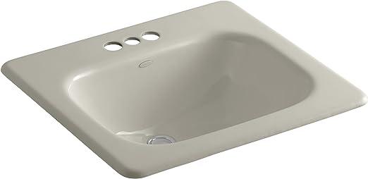 Kohler K 2895 4 G9 Tahoe Self Rimming Bathroom Sink With 4