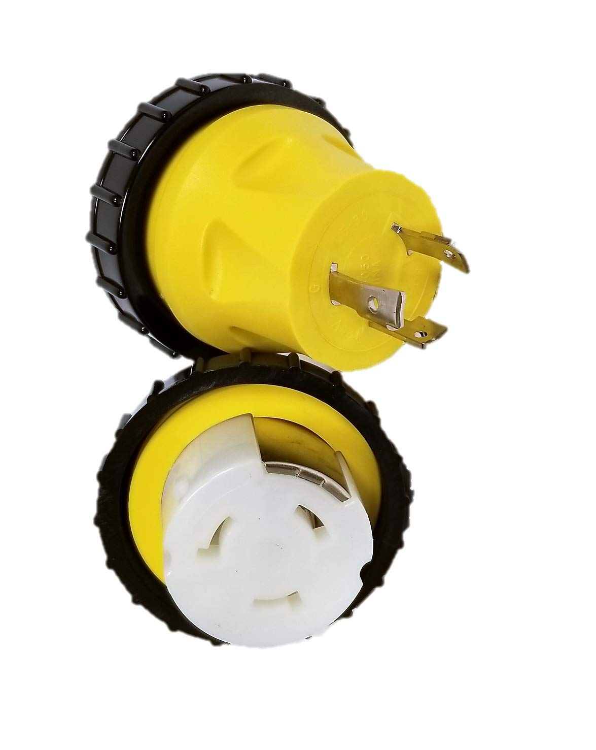 Marine Shore Power Locking 30 amp Male to Locking 50 amp Female with Seal Ring (14963) by High Tide marine Power Cords