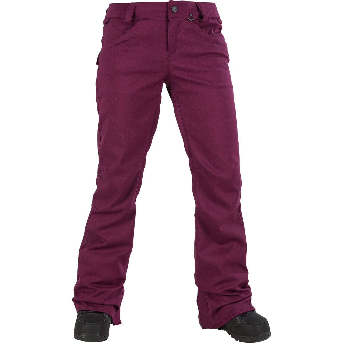 Volcom Junior's Species Stretch 2 Layer Shell Snow Pant, Winter Orchid, Large