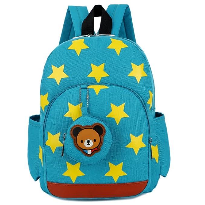 c4cc54c51d4d Amazon.com | Uniuooi Kids Backpack Blue- Nursery School Bag Suitable ...