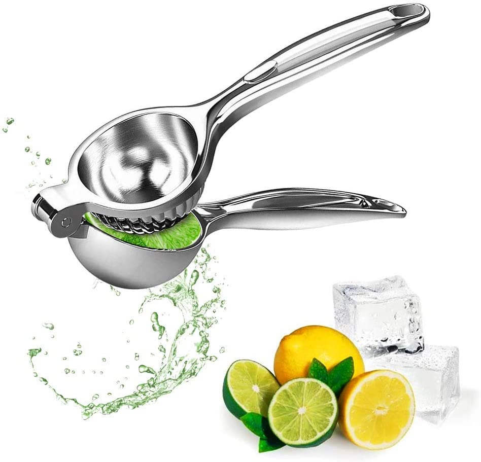Lemon Squeezer Hand Manual Lemon Squeezers - Lime Hand Juice Lemon Squeezer Press Citrus Press Juicers Squeezer,Premium Quality Metal Juicer Manual Citrus Press Juicer