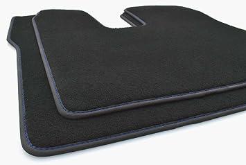 Kh Teile Lkw Fußmatten Man Tgx Blaue Naht Original Qualität Autoteppich 2 Teilig Fahrer Beifahrermatte Auto