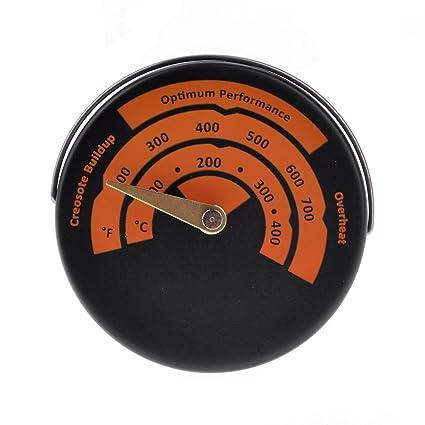 GGG Magnético estufa termómetro medidor?Horno de acero inoxidable 500 ° c grados?horno de leña,horno /parrilla termómetros