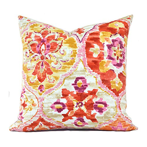 Outdoor Decorative Throw Pillow Cover Any Size OD Ali Baba Tangerine