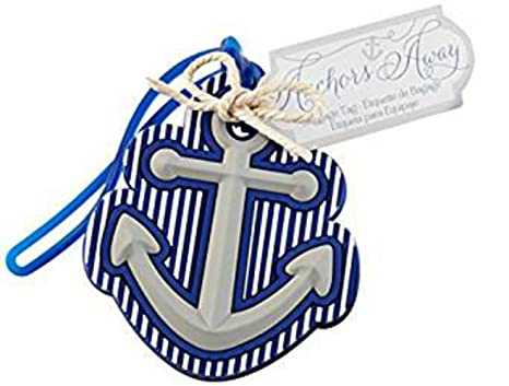 20pcs anchors away luggage tag for baby shower gifts wedding favors