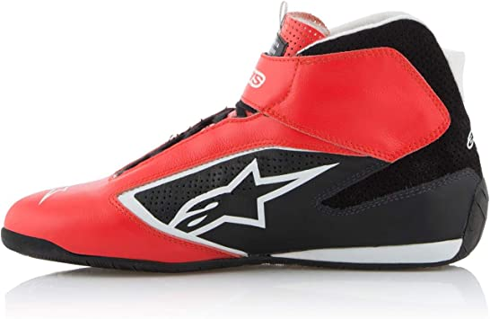 Alpinestars TECH-1 T SHOES US RED BLACK WHITE 8.5
