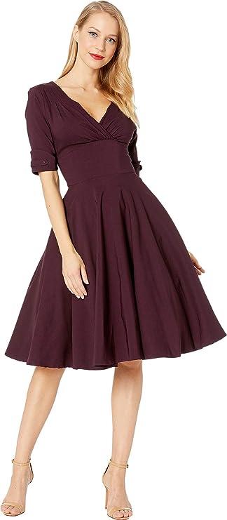 Vintage Dresses Australia- 20s, 30s, 40s, 50s, 60s, 70s Unique Vintage Womens 1950s Delores Swing Dress with Sleeves AUD 342.87 AT vintagedancer.com