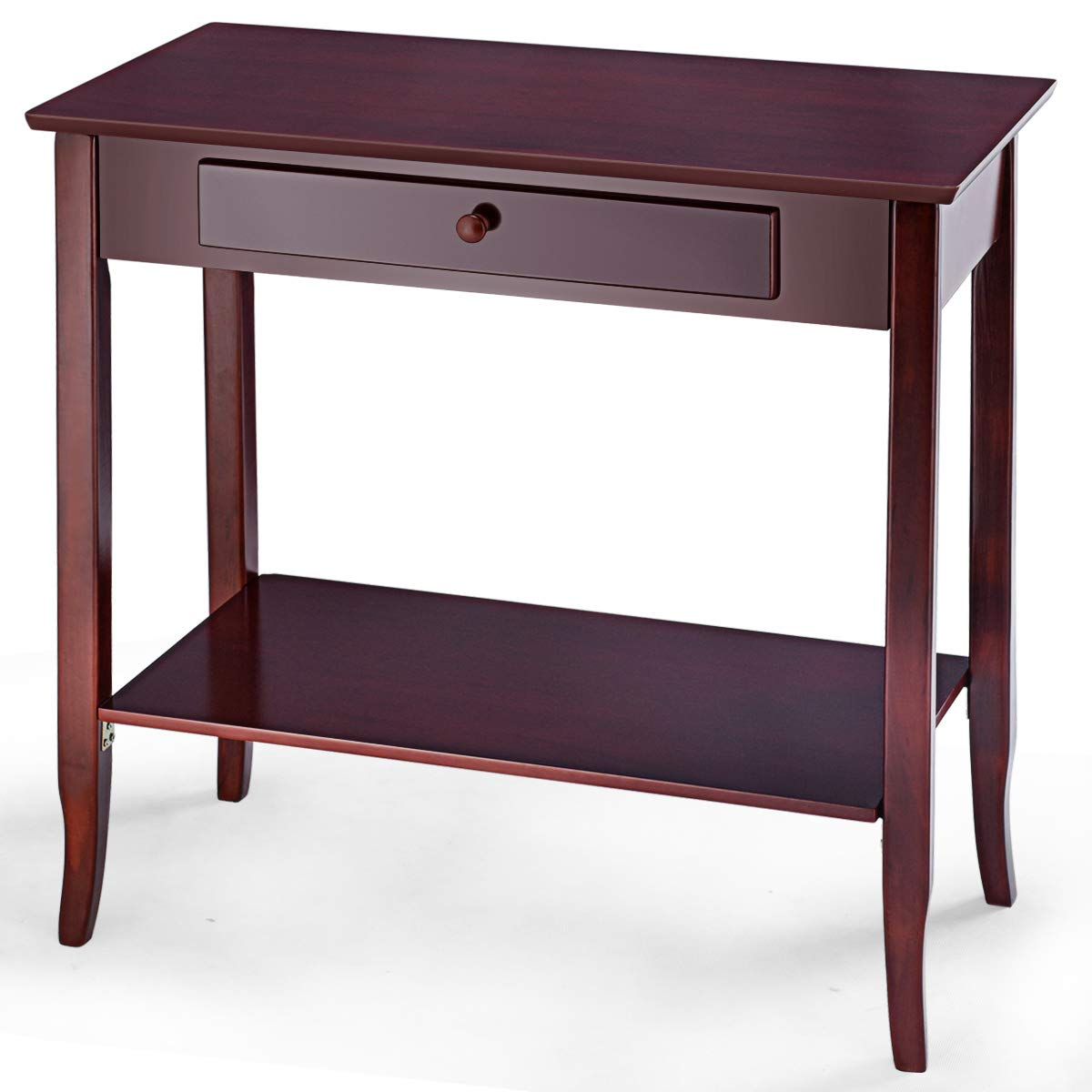 Giantex Entryway Table W/Storage Shelf and Drawer for Living Room Bedroom Console Hallway Desk by Giantex
