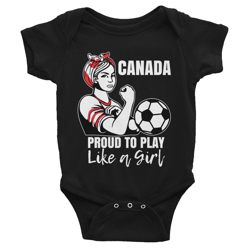 Infant Bodysuit Amazingly Good Products Canada Womens Soccer Kit France 2019 Girls Football Fans