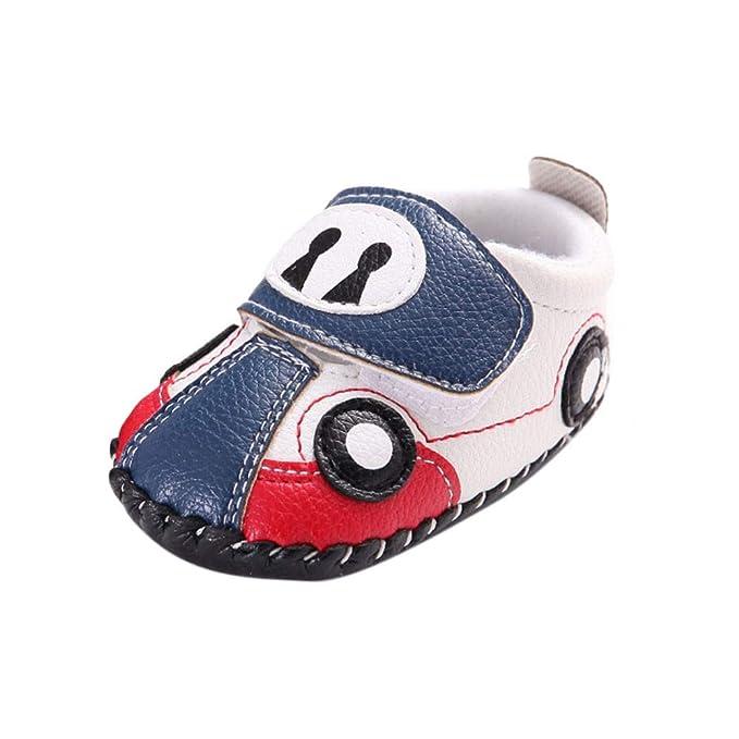 SamMoSon zapatos bebe recien nacido niña invierno con suela Zapatos ...
