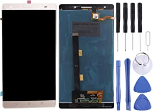 Replace The Old Replacement Sets Replacement LCD Screen+Touch Screen and Digitizer Full Assembly for Lenovo Phab 2 Plus(Black) (Color : Gold)
