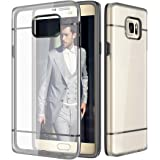 Realike Samsung S7 Premium Ultra Thin Crystal Clear Transparent Shock Proof Case For Samsung Galaxy S7 (Glacier Seriesblack)